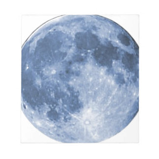 blue moon notepad
