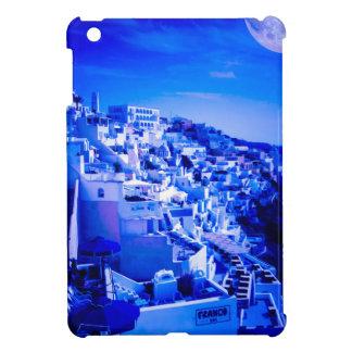 Blue Moon Over Fira Santorini Case For The iPad Mini