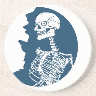 blue moon shirt coaster