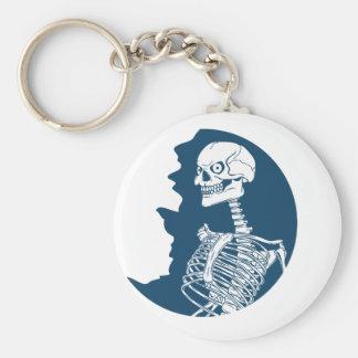 blue moon shirt key ring