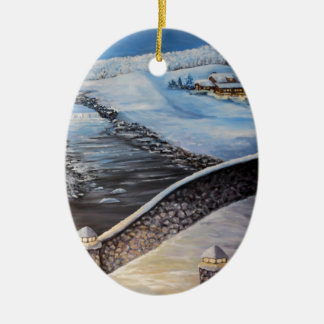 Blue Moon to Copy.JPG Ceramic Oval Decoration