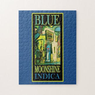 BLUE MOONSHINE INDICA JIGSAW PUZZLE