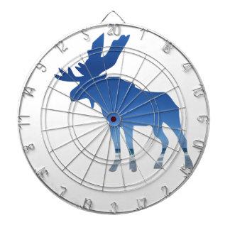 blue moose dartboard