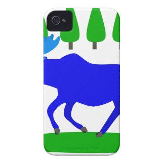 blue moose loose Case-Mate iPhone 4 cases