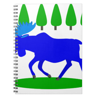 blue moose loose spiral note books