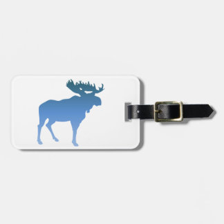 Blue Moose Luggage Tag