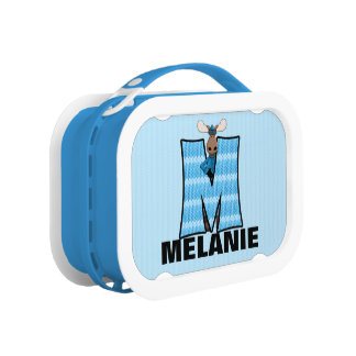 """Blue Moose Monogrammed """"M"""" Camouflage Lunch Box"""