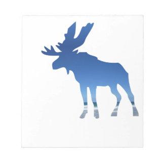 blue moose notepads