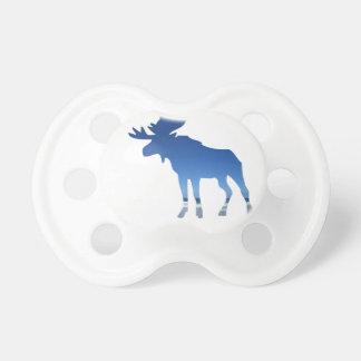 blue moose pacifiers