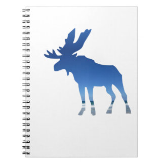 blue moose spiral notebooks