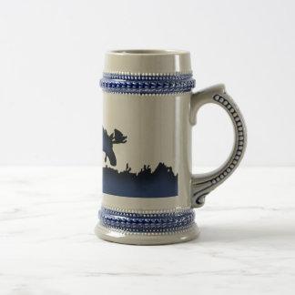 Blue Moose Stein Mug