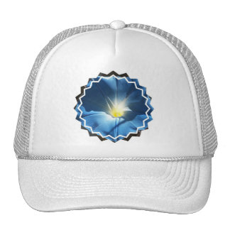 Blue Morning Glory Baseball Hat