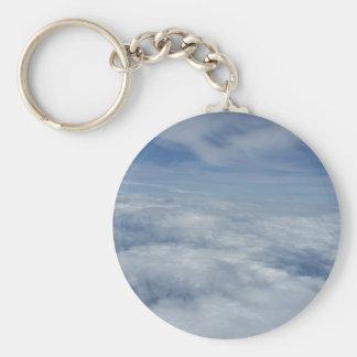 blue morning key ring