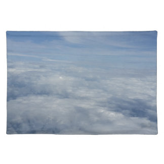 blue morning sky placemat