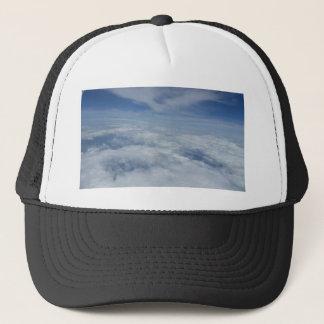 blue morning sky trucker hat