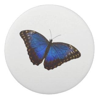 Blue Morpho Butterfly Eraser