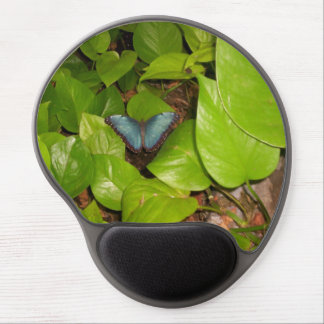 Blue Morpho Butterfly Gel Mouse Pad
