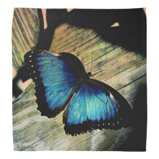 Blue Morpho Butterfly Insect Pretty Bandana