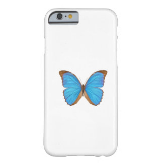 Blue Morpho Butterfly (Menelaus Blue Morpho, Morph Barely There iPhone 6 Case