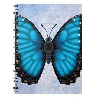 Blue Morpho Butterfly Notebooks
