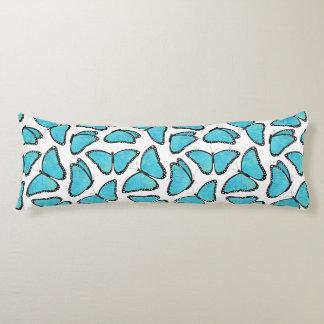 Blue Morpho Butterfly Pattern Body Cushion