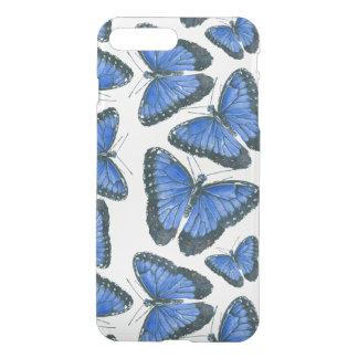 Blue morpho butterfly pattern design iPhone 8 plus/7 plus case