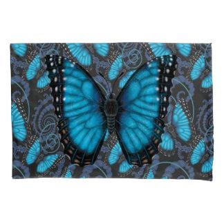 Blue Morpho Butterfly Pillowcase