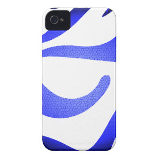 Blue Mosaic Apple iPhone 4 iPhone 4 Covers