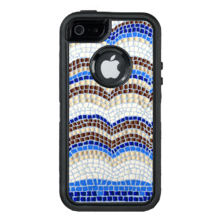 Blue Mosaic Apple iPhone SE/5/5s Case