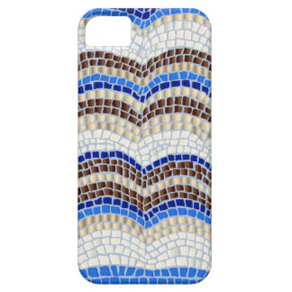 Blue Mosaic Barely There iPhone SE/5/5s Case