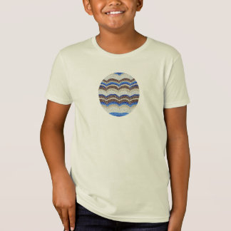 Blue Mosaic Kids' Organic T-Shirt