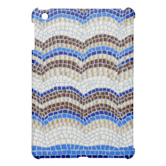 Blue Mosaic Matte iPad Mini Case