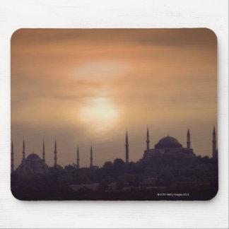 Blue Mosque and Hagia Sophia Turkey, Istanbul Mouse Pad