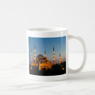 Blue mosque at twilight Mug
