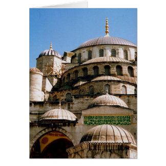 blue mosque card
