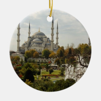 Blue Mosque Ceramic Ornament