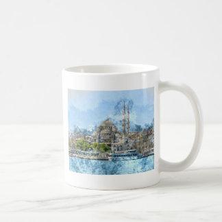 Blue Mosque in Istanbul Turkey Coffee Mug