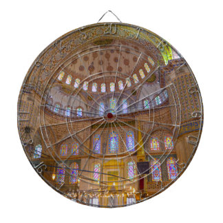 Blue Mosque in Istanbul Turkey Dartboard