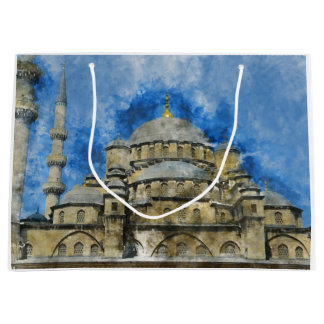 Blue Mosque in Istanbul Turkey Large Gift Bag