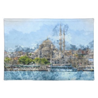 Blue Mosque in Istanbul Turkey Placemat
