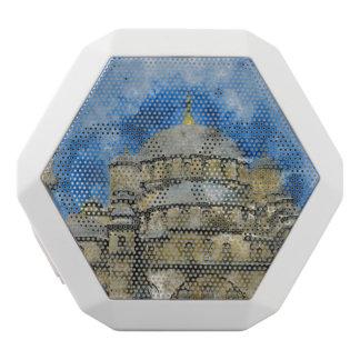 Blue Mosque in Istanbul Turkey White Bluetooth Speaker