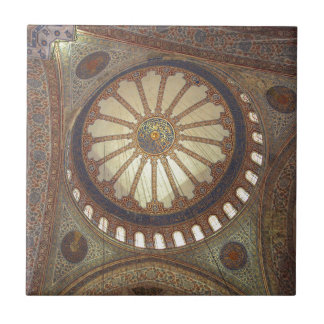 Blue Mosque Interior Istanbul, Turkey Tile
