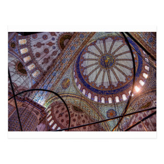 Blue Mosque Istanbul Postcard