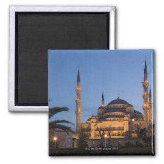 Blue Mosque, Sultanhamet Area, Istanbul, Turkey Refrigerator Magnet