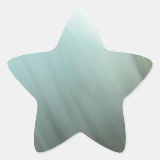 Blue motion blur pattern star sticker