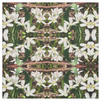 Blue Mountain Alpine Lily Fabric