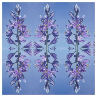 Blue Mountain Camas Fabric