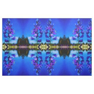 Blue Mountain Camas Tapestry Fabric