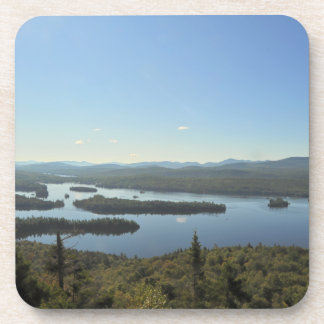 Blue Mountain Lake Cork Coaster