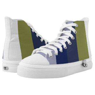 Blue Mountain Peak Stripes High Tops